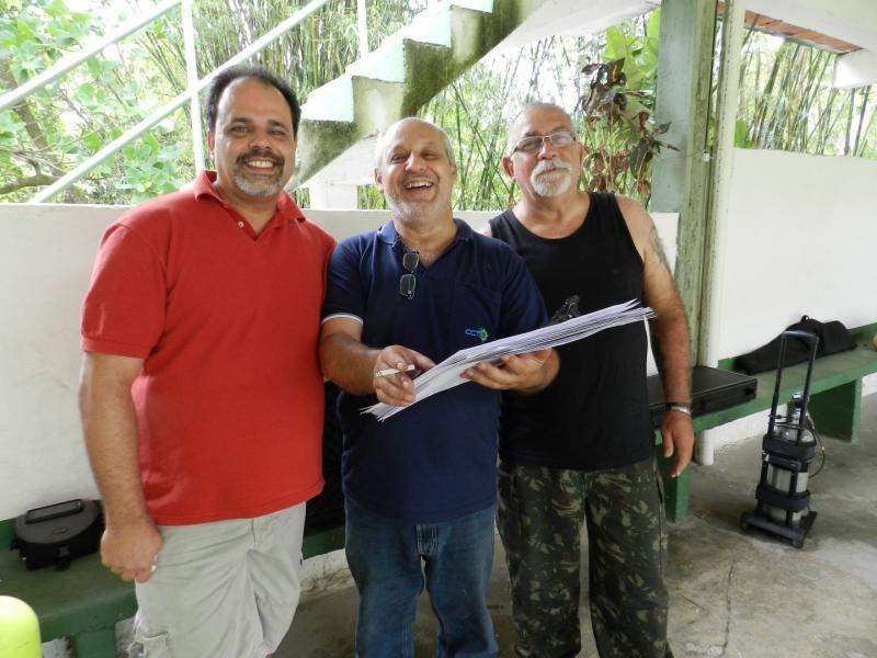 072 Cunha, Papa e Edu Antunes!